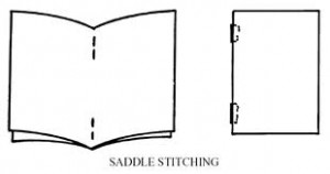saddle-stitching